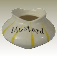 Holt Howard Base to Pixieware Mustard Condiment Jar