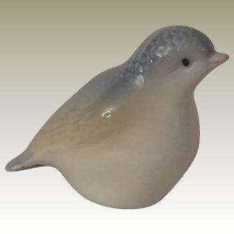 Porceval Blue Bird Figurine Made in Valencia Spain