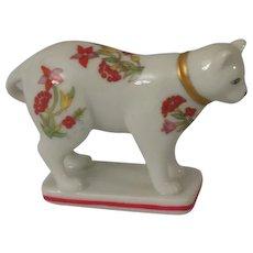 Franklin Mint Kakiemon Curio Cabinet  Cat