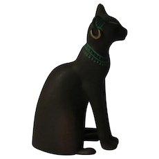 Franklin Mint Egyptian Curio Cabinet  Cat