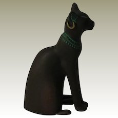 Franklin Mint Egyptian Curio Cabinet  Cat