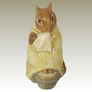 Beswick Beatrix Potter Chippy Hackee Figurine