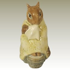 Beswick Beatrix Potter Chippy Hackee Figurine