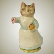 Beswick Beatrix Potter Tabitha Twitchit Cat Figurine