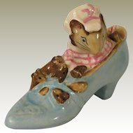 Beswick Beatrix Potter The Old Woman Who Lived in a Shoe Figurine