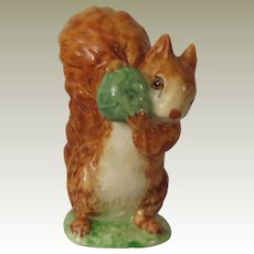 Beswick Beatrix Potter Squirrel Nutkin Figurine