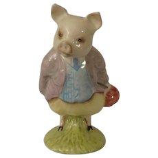 Beswick Beatrix Potter Pigling Bland Pig Figurine