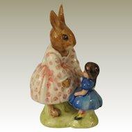 Royal Doulton Dollie Bunnykins Playtime Figurine