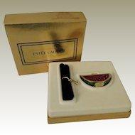 Estee Lauder Marvelous Melon Solid Perfume Compact