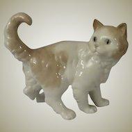 Early NAO Frightened Kitten Porcelain Figurine