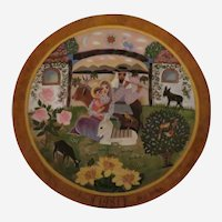 Return Into Galilee Limited Edition Collector Plate by Hedi Keller of Konigszelt Bavaria