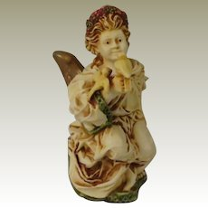 Harmony Kingdom La Gardienne Angelique Timed Holiday Edition Box Figurine with Angel and Doves