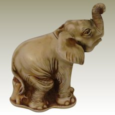 Harmony Kingdom Trunk Call Mini Treasure Jest Box Figurine of an Elephant