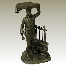 The Muffin Man from Franklin Mint Street Seller of Old London Town Collection