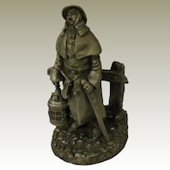The Watchman from Franklin Mint Street Seller of Old London Town Collection
