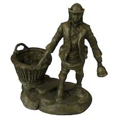 The Dustman from Franklin Mint Street Seller of Old London Town Collection