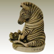 Harmony Kingdom Treasure Jest Driver's Seat Box Figurine with Zebra