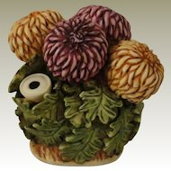 Harmony Kingdom Lord Byron's Harmony Garden Chrysanthemum Treasure Jest Box Figurine