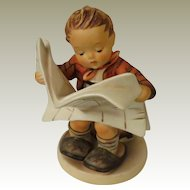 Goebel Hummel Latest News Porcelain Figurine Model 184