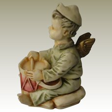Harmony Kingdom Bon Bon Timed Edition Box Figurine of a Little Angel Drummer Boy