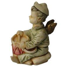 Harmony Kingdom Bon Bon Timed Edition Box Figurine of a Little Angel Drummer Boy