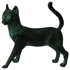 Franklin Mint Han Dynasty Curio Cabinet Cat Figurine