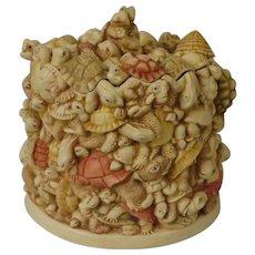 Harmony Kingdom Primordial Soup Extra Large Treasure Jest Box Figurine