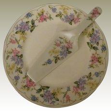 Andrea by Sadek April Porcelain Cake Plate and Server