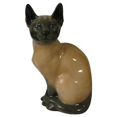 Royal Copenhagen Siamese Cat 3281