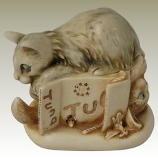 Harmony Kingdom Tony's Tabbies II Treasure Jest Box Figurine with Cats