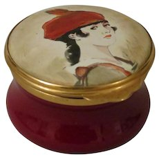 Toye Kenning and Spencer Limited Edition Enamel Box made for Schweppes