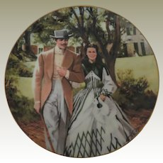 Home to Tara Gone With The Wind W S George Limited Edition Collector Plate