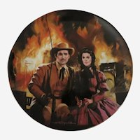 The Burning of Atlanta Gone With The Wind Limited Edition Collector Plate