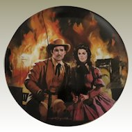 The Burning of Atlanta Gone With The Wind W S George Limited Edition Collector Plate
