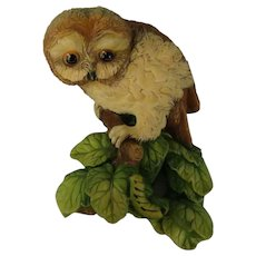 Bossons Owlet Wall Plaque Sculpted by Fred Wright