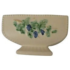McCoy Pedestal Planter in the Antique Curio Pattern