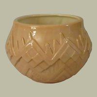 Atlantic Mold Southwestern Style Tan Ceramic Planter
