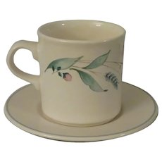 Pfaltzgraff April Cup and Saucer