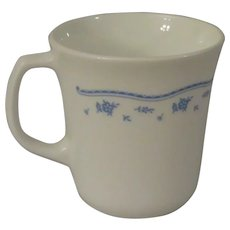Corning Corelle Morning Blue Mugs - Set of 4