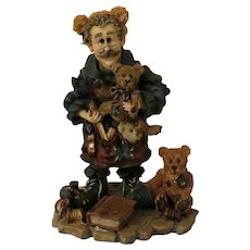 Boyds Bears & Friends Bean the Bearmaker Elf Figurine from the Wee Folkstone Collection