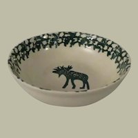 Tienshan Folk Craft Moose Country Cereal Bowls