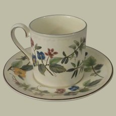 Mikasa Spring Tradition Coffee Cup and Saucer