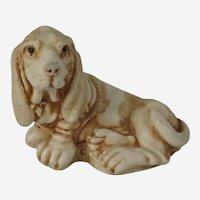 Nell the Bassett Hound Harmony Kingdom NetsUKe Treasure Jest Figurine