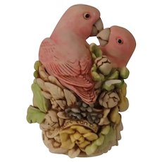 Harmony Kingdom Love Nest Treasure Jest Box Figurine with Birds