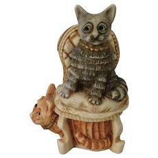 Harmony Kingdom Signed Special Event Cat's Meow box figurine called Clair De Meow