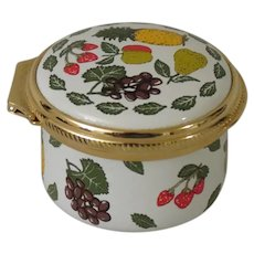 Alastor Enamels Fruits Trinket Box