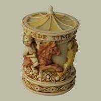Harmony Kingdom Harmony Circus The Olde Time Carousel Box Figurine