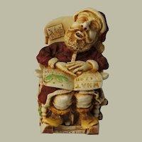 Harmony Kingdom Jingle Bell Rock Treasure Jest Box Figurine with Santa