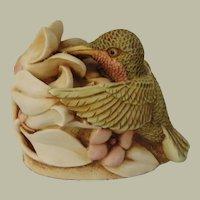 Harmony Kingdom Sweet Serenade Treasure Jest Box Figurine with Hummingbird