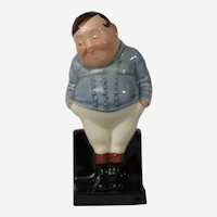 Royal Doulton Fat Boy Figurine Based on Character from The Pickwick Papers by Dickens